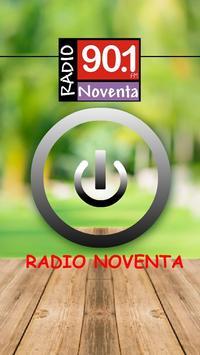 Radio Noventa 90.1 MHz poster