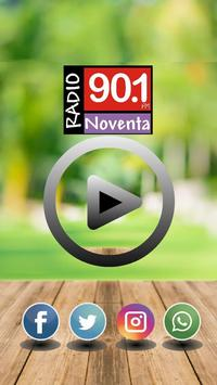 Radio Noventa 90.1 MHz apk screenshot
