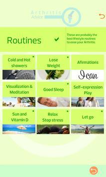 Arthritis Advice screenshot 1