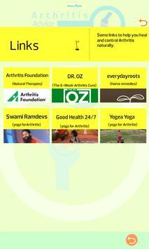Arthritis Advice apk screenshot