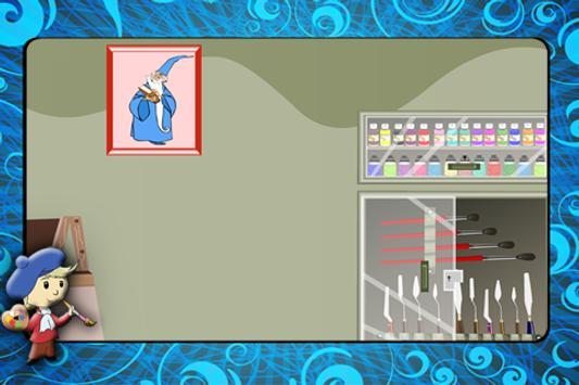 Artist Room Escape apk screenshot