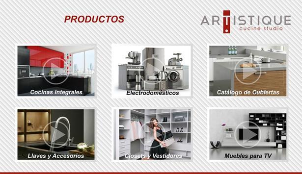 Cocinas Artistique screenshot 4
