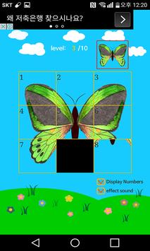 Fly Slide Puzzle screenshot 1