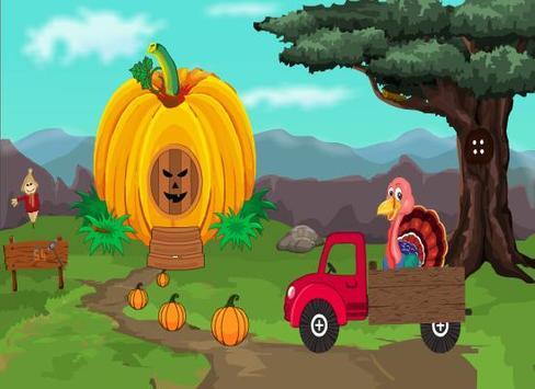 Bye Bye Thanksgiving Escape poster