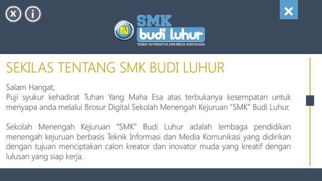 Brosur Smk Budi Luhur screenshot 1