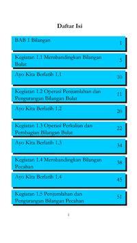 Kelas VII Matematika BS Sem1 screenshot 7