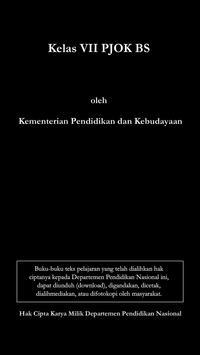 Kelas VII PJOK BS poster
