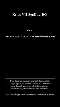 Kelas VII SenBud BG poster
