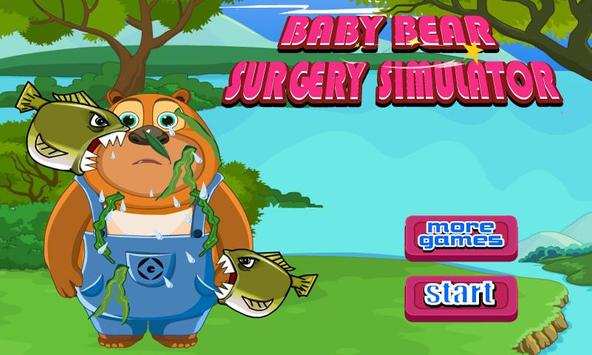 Baby Bear Surgery Simulator poster