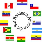 Banderas América del Sur icon