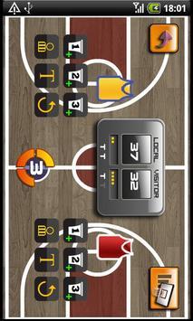 Basketball Scorer apk screenshot