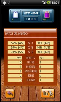 Basketball Stats apk screenshot
