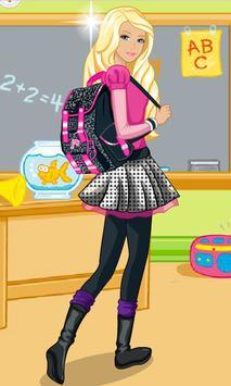Dress Up Barbie Back to School apk screenshot