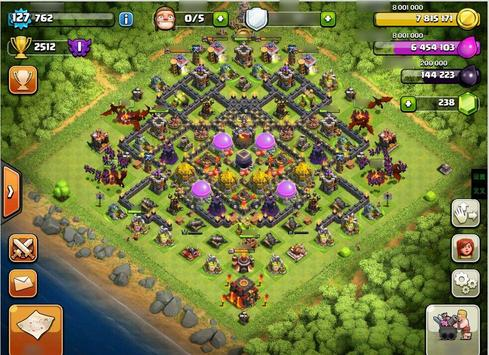 Base Map Clash of Clans Guide screenshot 1