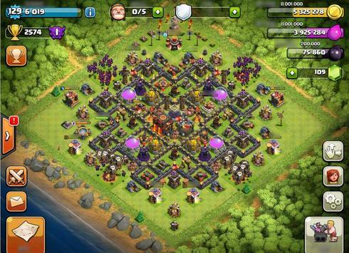 Base Map Clash of Clans Guide screenshot 2