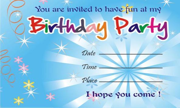Birthday invitation cards apk download free communication app birthday invitation cards poster birthday invitation cards apk screenshot stopboris Gallery