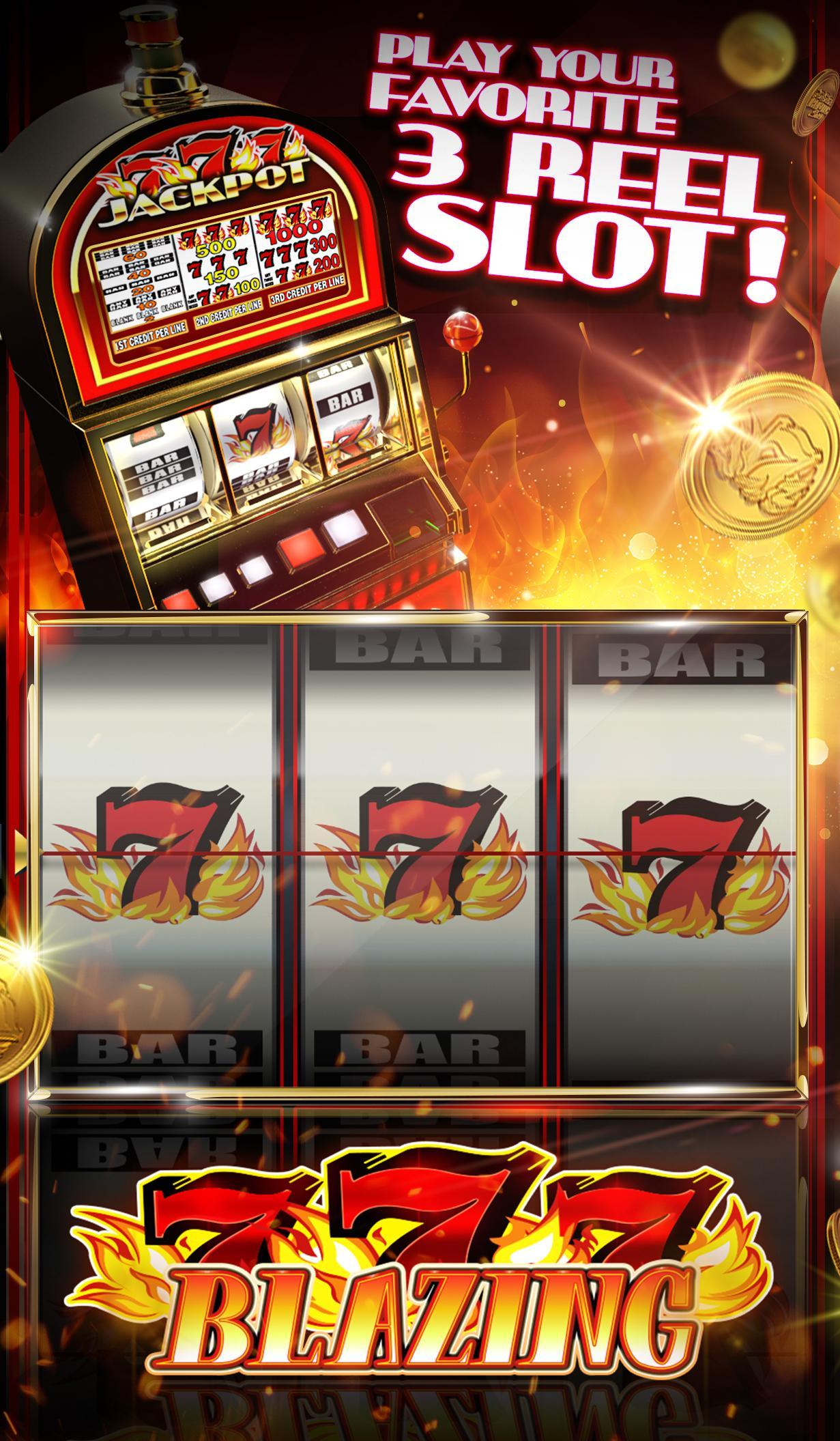 Free Blazing 7 Slot Machine Games