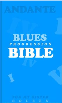 Blues Progression Bible poster