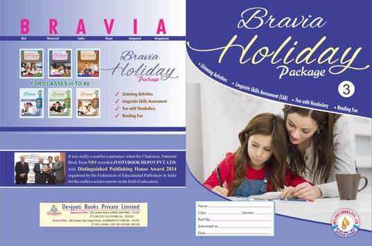 Bravia Book 3 poster