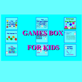 Box with games icon