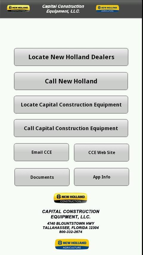CCE Dealer Locator poster