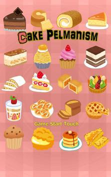 Cake Pelmanism poster