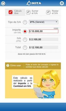 Calculadora de IVA (Argentina) poster