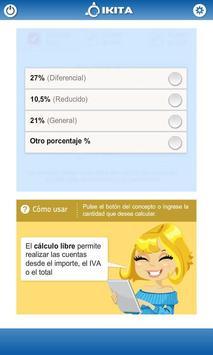 Calculadora de IVA (Argentina) apk screenshot