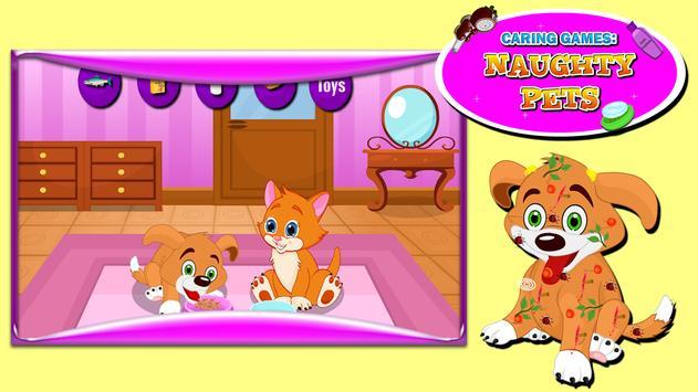 Caring Games : Naughty Pets screenshot 10