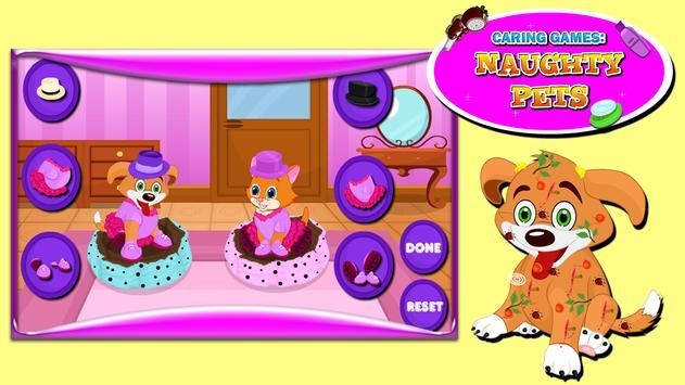 Caring Games : Naughty Pets screenshot 11