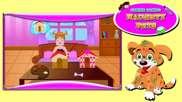 Caring Games : Naughty Pets screenshot 13