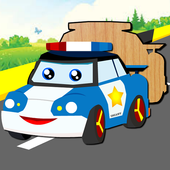 Cars Cartoon Puzzle icon