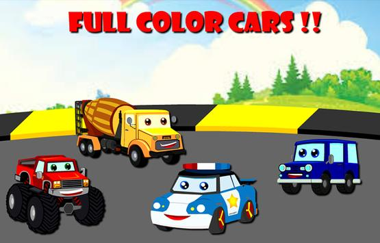 Cars Cartoon Puzzle screenshot 1
