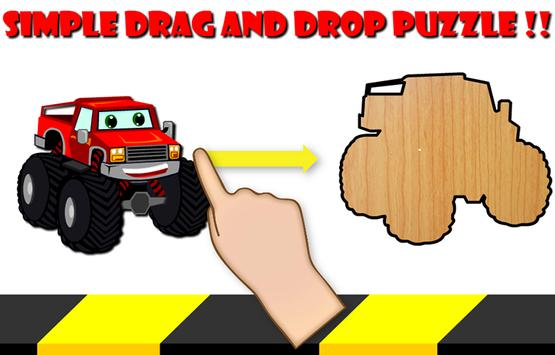 Cars Cartoon Puzzle screenshot 2