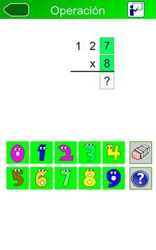 Cartilla de Multiplicar (FREE) apk screenshot