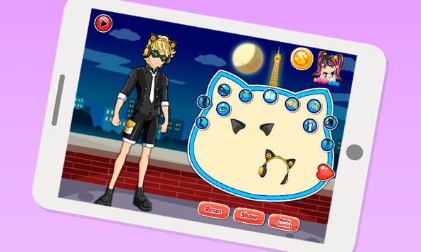 Dress up Cat Noir Miraculous apk screenshot