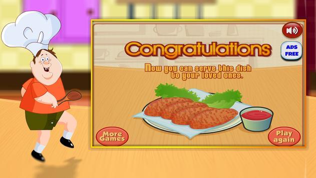Chicken Nuggets Cooking Games screenshot 9