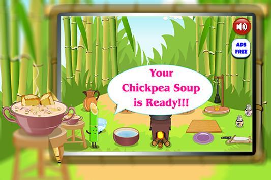 Chickpea Soup Recipe Cooking screenshot 4