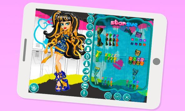 Dress up Cleo De Nile apk screenshot
