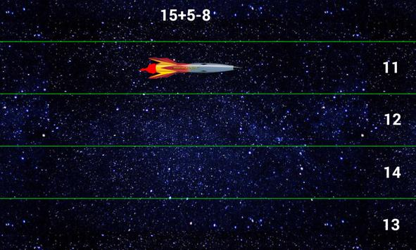 Rocket - speed of mind. Mathematics and Space. apk screenshot