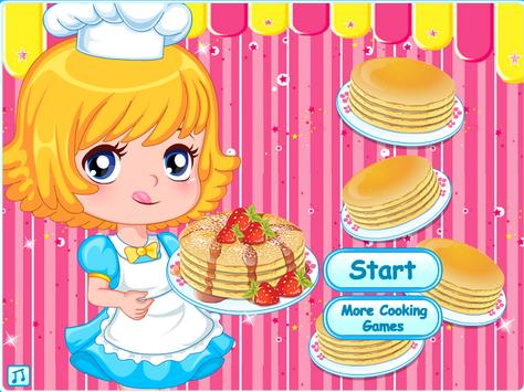 Cooking Cake Pancake Chocolate poster