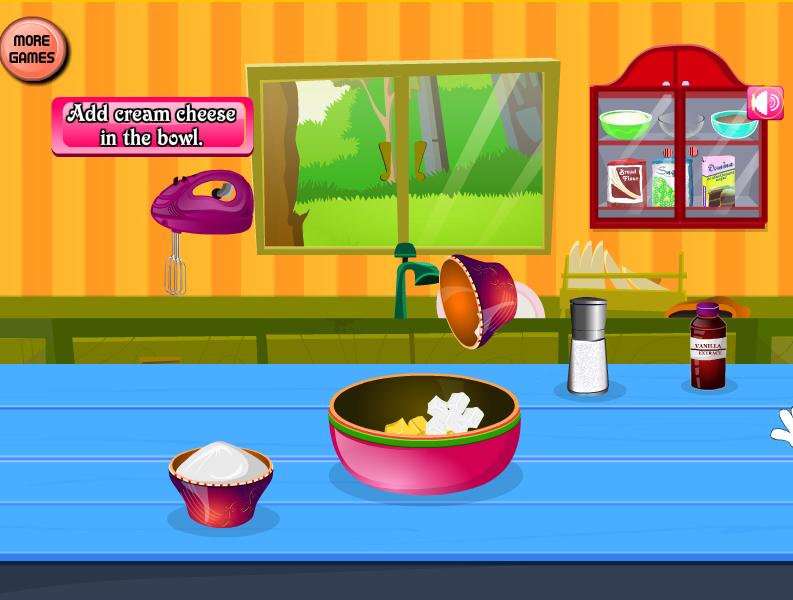 Kuchen Machen Spiele
