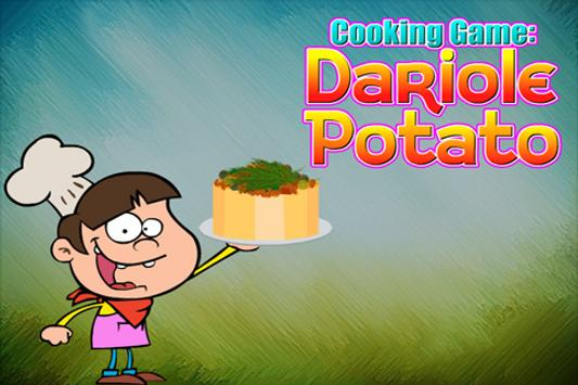 Cooking Game : Dariole Potato poster