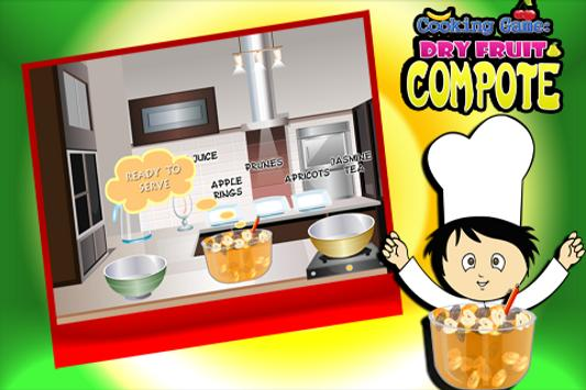Cooking Game :Dryfruit Compote screenshot 4