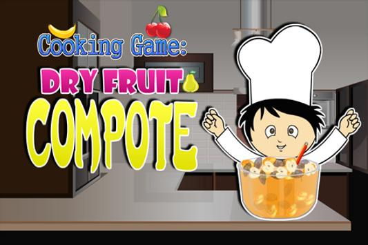 Cooking Game :Dryfruit Compote poster