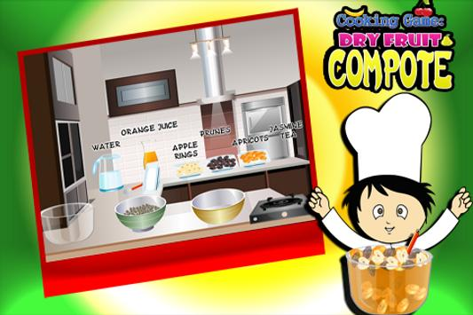 Cooking Game :Dryfruit Compote screenshot 1