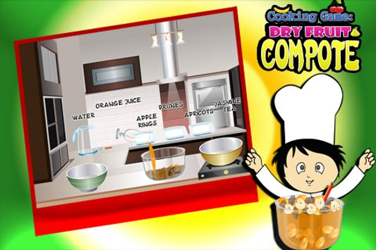 Cooking Game :Dryfruit Compote screenshot 3