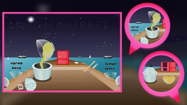 Cooking Game : Lemon Sherbet screenshot 7