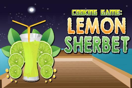 Cooking Game : Lemon Sherbet poster