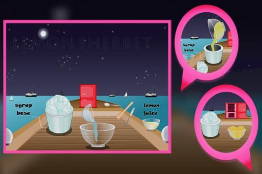 Cooking Game : Lemon Sherbet screenshot 1